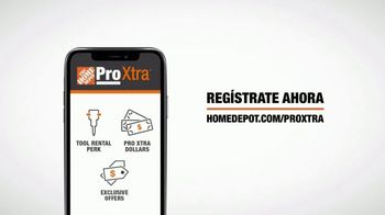 The Home Depot TV Spot, 'Programa de lealtad Pro Xtra' [Spanish] - Thumbnail 6