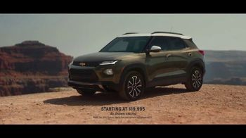 2021 Chevrolet Trailblazer TV Spot, 'Middle of Nowhere' Song by Popol Vuh [T1]