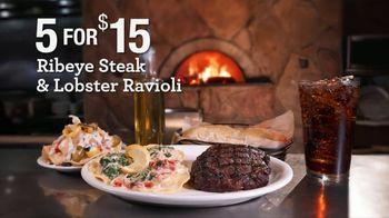 Johnny Carino's Italian Ribeye Steak & Lobster Raviolo Meal Deal TV Spot, 'Join Us: $15'
