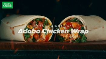 Healthy Choice Adobo Chicken Wrap TV Spot, 'Deliciously Satisfying' - Thumbnail 1