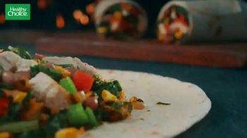 Healthy Choice Adobo Chicken Wrap TV Spot, 'Deliciously Satisfying' - Thumbnail 4