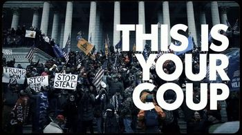 The Lincoln Project TV Spot, 'This Is Your Coup' - 9 commercial airings