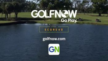 GolfNow.com TV Spot, 'Line Up Great Savings: Spend $40, Earn $40' - Thumbnail 9