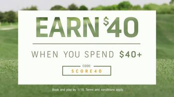 GolfNow.com TV Spot, 'Line Up Great Savings: Spend $40, Earn $40' - Thumbnail 4