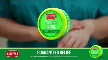O'Keeffe's Working Hands TV Spot, 'Constant Washing: Cracked Hands' - Thumbnail 6