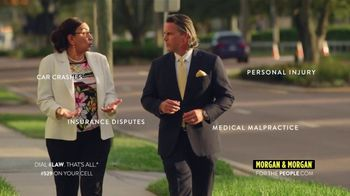 Morgan & Morgan Law Firm TV Spot, 'Licensed in All 50 States'
