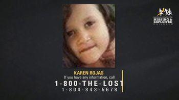 National Center for Missing & Exploited Children TV Spot, 'Karen Rojas' - Thumbnail 9