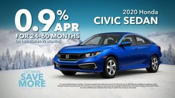 Honda Get More Save More Sales Event TV Spot, 'Tech at Every Turn: Civic' [T2] - Thumbnail 10