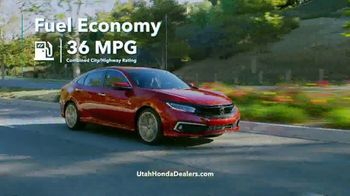 Honda Get More Save More Sales Event TV Spot, 'Tech at Every Turn: Civic' [T2] - Thumbnail 7