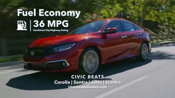 Honda Get More Save More Sales Event TV Spot, 'Tech at Every Turn: Civic' [T2] - Thumbnail 8