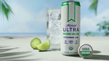 Michelob ULTRA Organic Seltzer Cucumber Lime TV Spot, 'Not Playing Around'