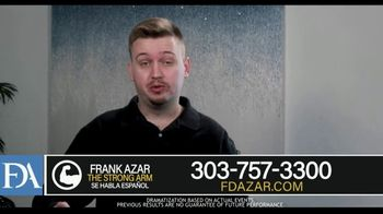 Franklin D. Azar & Associates, P.C. TV Spot, 'Car Wreck Wasn't My Fault' - Thumbnail 4