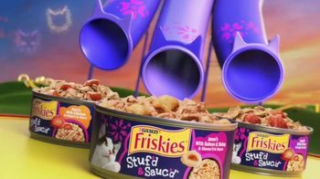 Friskies Stuf'd & Sauc'd TV Spot, 'Ramping Up: Lil' Gravies'