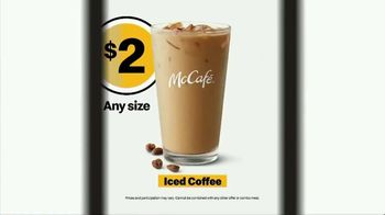 McDonald's TV Spot, 'The YESSSSSS! Meal: Any Size Iced Coffee for $2' - Thumbnail 8