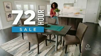 Ashley HomeStore 72 Hour Sale TV Spot, 'Up to 25% off Storewide'