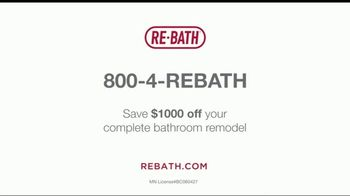 Re-Bath TV Spot, 'Simplicity of Service: Complete Bathroom Remodel: Save $1,000' - Thumbnail 10