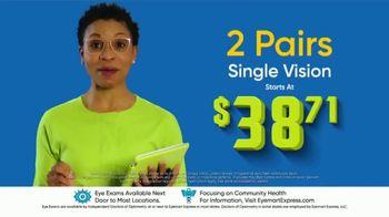 Eyemart Express TV Spot, 'Two Pairs Under $40'