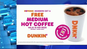 Dunkin' TV Spot, 'ABC 6: Free Medium Hot Coffee' - Thumbnail 10
