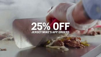 Jersey Mike's TV Spot, 'Craving Into Saving: 25% Off' - Thumbnail 2