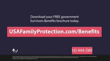 USA Family Protection Insurance Services TV Spot, 'Pool: Free Survivors Benefits Brochure' - Thumbnail 10