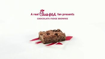 Chick-fil-A TV Spot, 'Maddy and Cedric: Free Chocolate Fudge Brownie' - Thumbnail 6