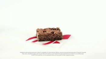 Chick-fil-A TV Spot, 'Maddy and Cedric: Free Chocolate Fudge Brownie' - Thumbnail 9