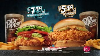 Jack in the Box Cluck Sandwich Combo TV Spot, 'Introducing: $7.99, $5.99' Song by Becky G - Thumbnail 5