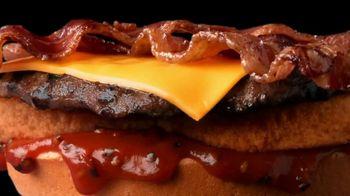 Hardee's TV Spot, 'Happy Meaty Meditations: Glitch'