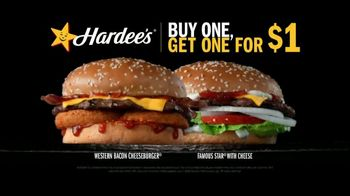 Hardee's TV Spot, 'Happy Meaty Meditations: Glitch' - Thumbnail 6