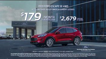 2020 Ford Escape TV Spot, 'Drive Into the New Year: Escape' [T2] - Thumbnail 5