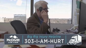 McDivitt Law Firm, P.C. TV Spot, 'Untold Amounts of Damage' - Thumbnail 9