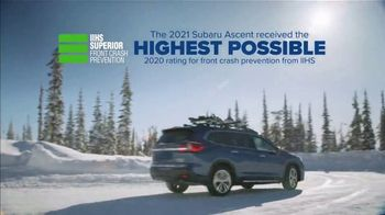 2021 Subaru Ascent TV Spot, 'Best Winter Ever: Ascent' [T2] - Thumbnail 4
