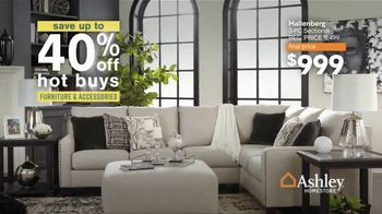 Ashley HomeStore Sale + Clearance Event TV Spot, '40% Off Hot Buys' - Thumbnail 2
