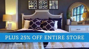 Bassett Winter Home Sale TV Spot, '40% Off Any One Item' - Thumbnail 6