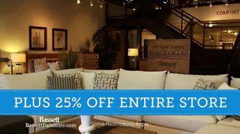 Bassett Winter Home Sale TV Spot, '40% Off Any One Item' - Thumbnail 7