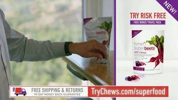 SuperBeets Soft Chews TV Spot, 'SuperBeets Chews Heart Health' - Thumbnail 4