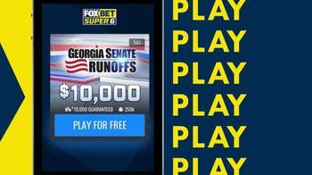 FOX Bet Super 6 TV Spot, 'Georgia Senate Runoffs'