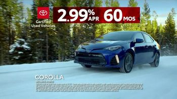 Toyota Certified Used Vehicles TV Spot, 'It Stands to Reason: Snow' [T2] - Thumbnail 9