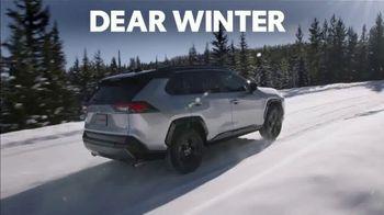 Toyota TV Spot, 'Dear Winter: Bundle Up' [T1] - Thumbnail 1