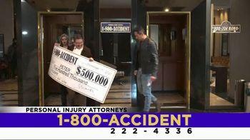 1 800 Accident TV Spot, 'Size Matters' - Thumbnail 8