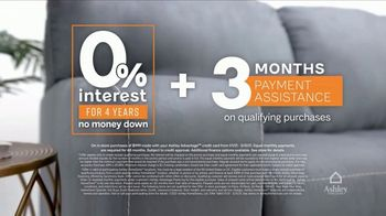 Ashley HomeStore Ashley Cares Relief Program TV Spot, '0% Interest and Three Months Payment Assist' - Thumbnail 5