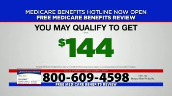 Medicare Benefits Hotline TV Spot, 'New Year: 2021 Benefits' - Thumbnail 1