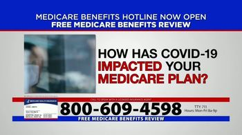 Medicare Benefits Hotline TV Spot, 'New Year: 2021 Benefits'