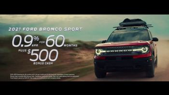 2021 Ford Bronco Sport TV Spot, 'The Future Comes Standard' [T2] - Thumbnail 6