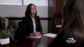 McDivitt Law Firm, P.C. TV Spot, 'Attention Drunk Drivers'