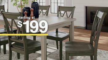 Ashley HomeStore Sale + Clearance Event TV Spot, 'Dining Tables and Sofa Savings: No Minimum' - Thumbnail 3