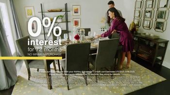 Ashley HomeStore Sale + Clearance Event TV Spot, 'Dining Tables and Sofa Savings: No Minimum' - Thumbnail 5
