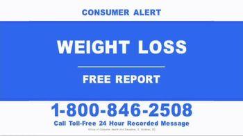 Consumer Education Hotline TV Spot, 'Weight Loss' - Thumbnail 1