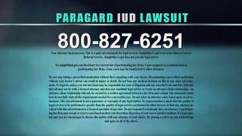 Knightline Legal TV Spot, 'Paragard IUD' - Thumbnail 6