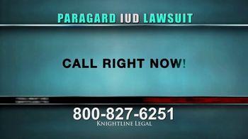 Knightline Legal TV Spot, 'Paragard IUD' - Thumbnail 3